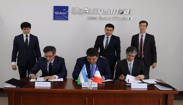Acuerdo entre PSA y SC Uzavtosanoat
