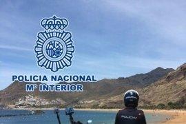 Detenido por robar a una pareja en Las Teresitas (Tenerife)