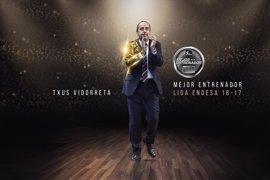 Vidorreta, nombrado Mejor Entrenador de la Liga Endesa