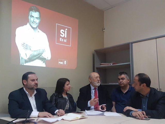El equipo de Pedro Sánchez se prepara para la campaña