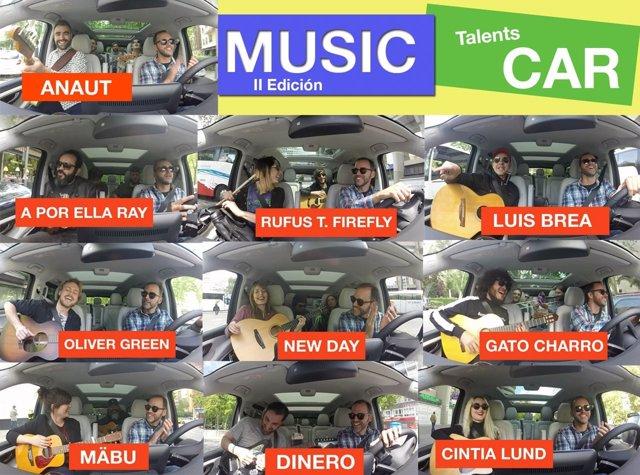 MUSIC CAR TALENTS