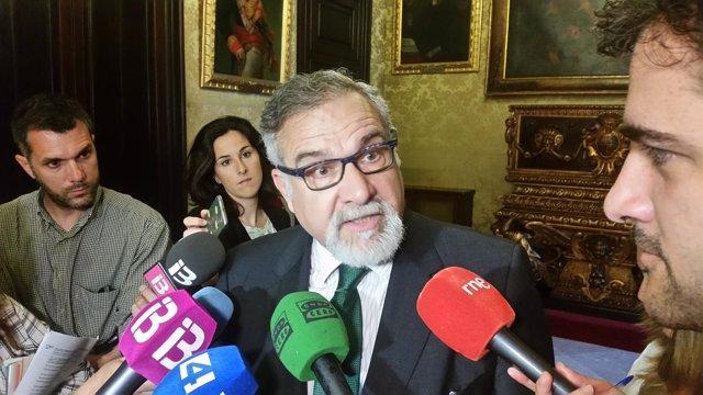El representante de Cs en Palma, Josep Lluís Bauzá