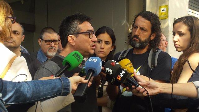 El presidente del comité de empresa del Metro, Pere Ramon