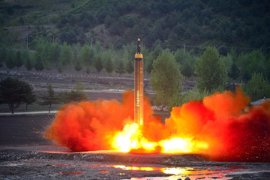 """Corea del Norte defiende ante la ONU la """"legitimidad"""" de sus pruebas con misiles balísticos"""