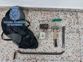 Detenido un hombre por intentar robar en tres viviendas en Santa Cruz de Tenerife