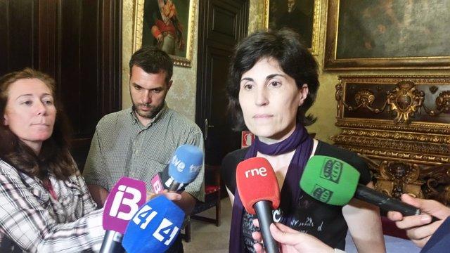 La Representante de Podemos, Antònia Martín
