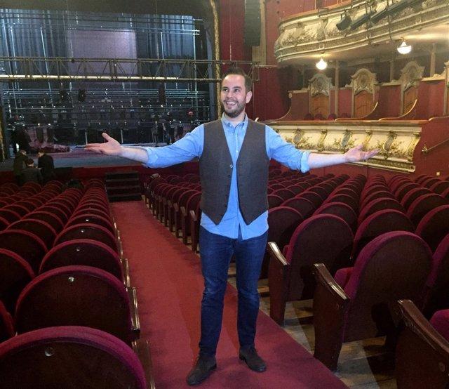 Jorge Blass en el Olympia