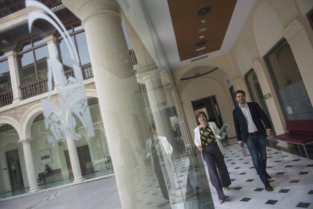 Los delegados de Gobierno y Cultura, Sandra García y Guillermo Quero