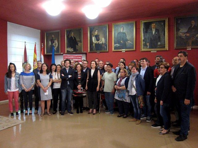Foto de familia de los firmantes de la Declaración