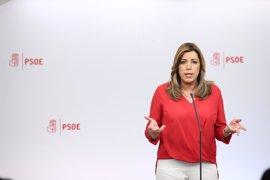 Susana Díaz presenta este miércoles sus propuestas para el PSOE con mayor participación de la militancia