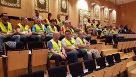 El Pleno de la Diputación muestra su apoyo a las reivindicaciones de los bomberos de Málaga