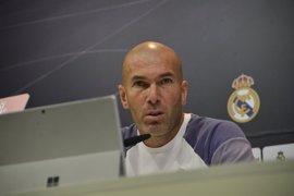 """Zidane: """"Tenemos que seguir hasta el último minuto del último partido"""""""
