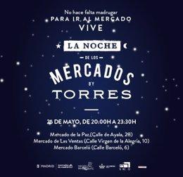La 'Noche de los Mercados' llega a Madrid
