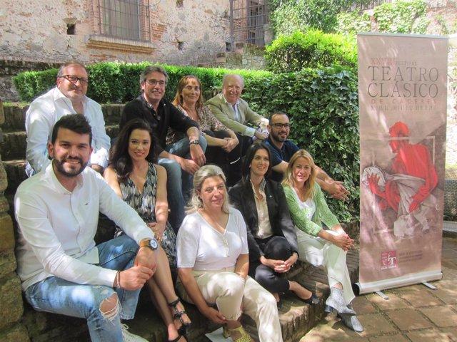 Presentación del XXVIII Festival de Teatro Clásico de Cáceres