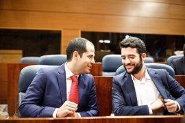 """Ciudadanos rechaza """"experimentos"""" para cambiar el Gobierno de la Comunidad de Madrid"""