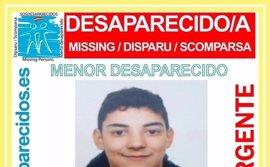 Buscan a un menor de 15 años desaparecido hace cinco días en Madrid