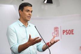 """Sánchez afea a Díaz su """"ataque personal"""" y dice a López que si quiere un modelo de dos vueltas no tiene sentido que siga"""