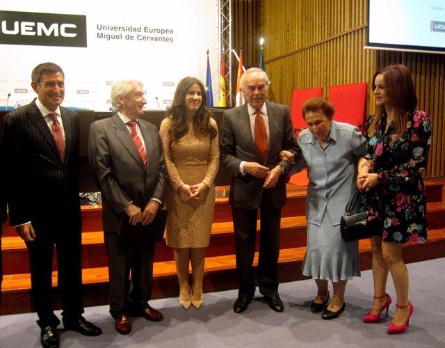 Participantes en las XVIII Jornadas de la UEMC.