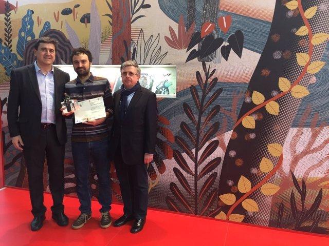 Foto Premio Bolonia Fundación SM