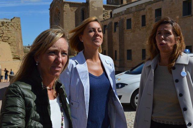 Marisa Xandri, con Dolores de Cospedal y Alicia Sánchez Camacho