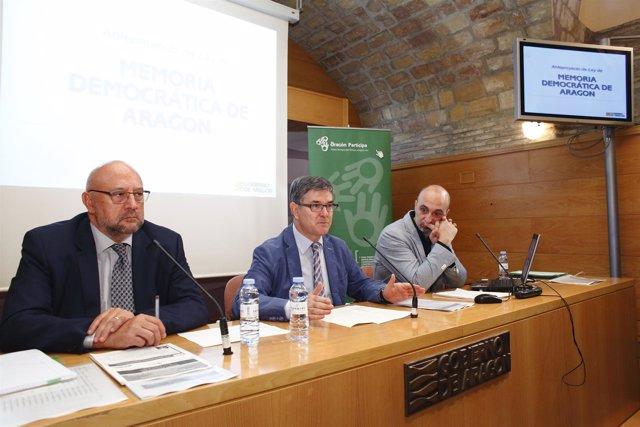 Sesión de participación sobre la futura ley de Memoria Democrática de Aragón