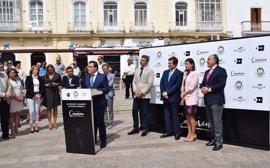Cádiz.- Inaugurada la exposición '25 años sin Camarón. Leyenda infinita', en la Plaza de la Iglesia de San Fernando