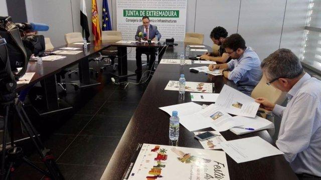 Presentación del IX Festival de las Aves de Cáceres