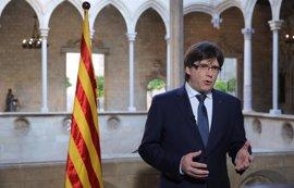 """Puigdemont defiende que votar """"no es ningún delito"""" tras conocer la querella contra Borràs"""