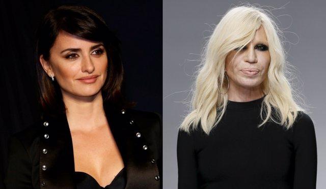 Penélope Cruz y Donatella Versace
