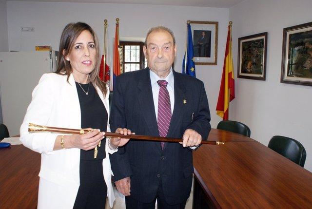 Gema Perojo y Javier González