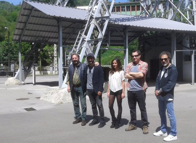 Equip de rodatge de la pel·lícula 'Enterrados'