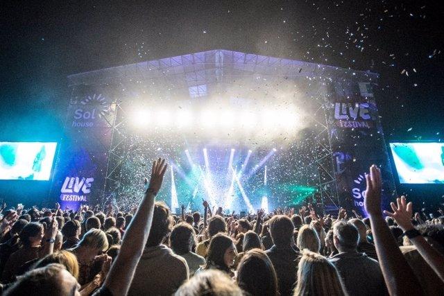 Imagen de uno de los conciertos