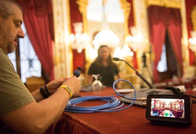 El sistema de video acta se estrena este miércoles en Diputación