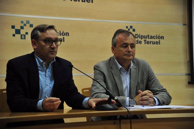 Juste y Marquesán han presentado este martes el Plan de Concertación de la DPT