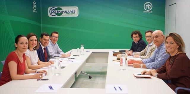 Reunión entre el PP-A y Feragua