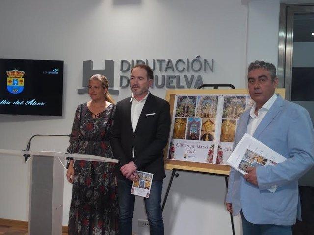Alcalde de Villalba, Sebastián Fernández, y concejal de Cultura, Pedro Rodríguez