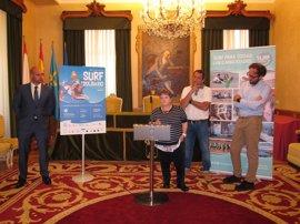 La VI Jornada de Surf Solidario recaudará fondos para la asociación Galbán y la de ELA