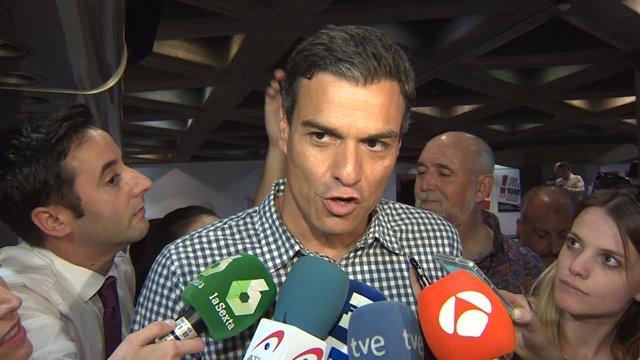 """Pedro Sánchez: """"Francina Armengol es bienvenida"""""""