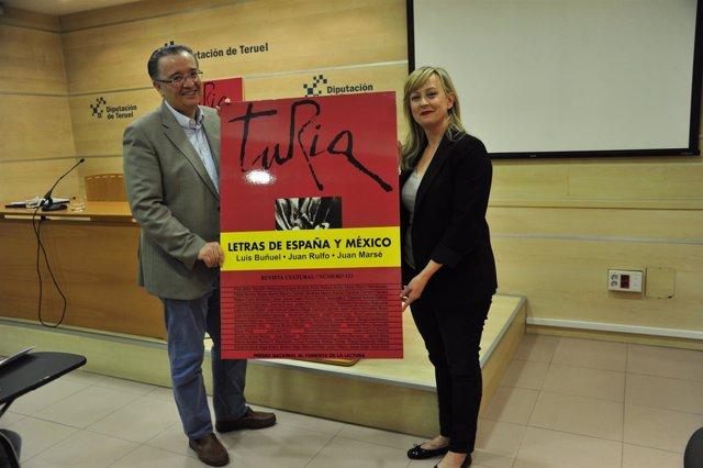 Revista cultural Turia se presenta en junio en México