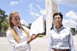 "El Gobierno venezolano recrimina a Tintori su ""falsa postura de víctima"""