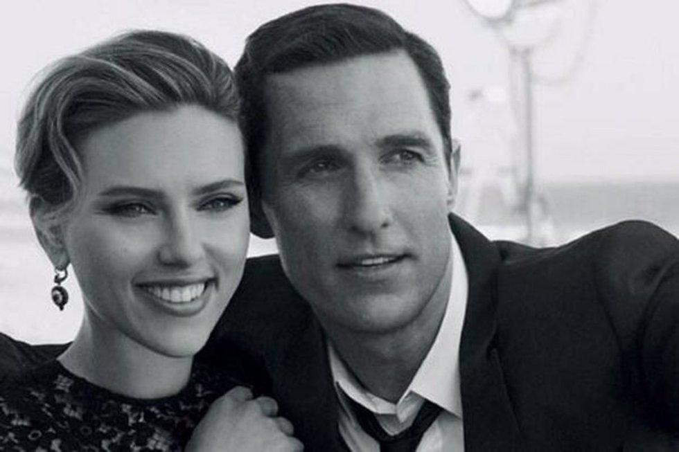 Scarlett johansson y mathew McConaughey