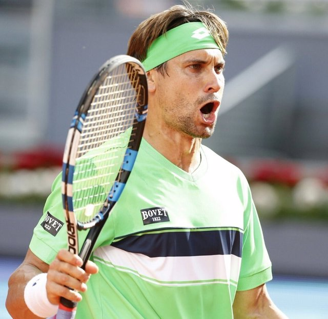 David Ferrer Mutua Madrid Open