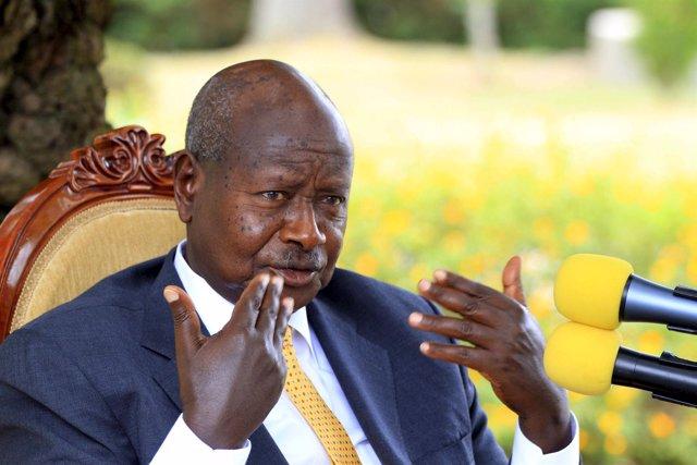El presidente de Uganda, Yoweri Museveni