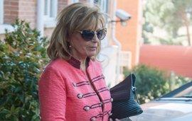 La presentadora de televisión María Teresa Campos, hospitalizada con un diagnóstico de isquemia cerebral