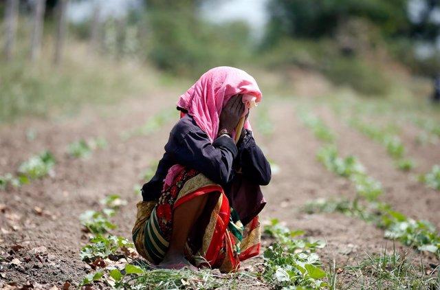 Joven en India