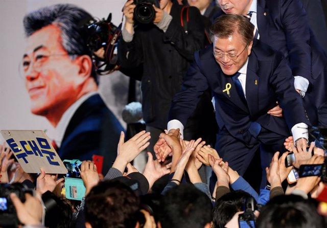 Moon Jae In, presidente electo de Corea del Sur