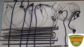 Agentes de Protección de la Naturaleza denuncian el uso de métodos prohibidos para la caza en la Comarca de Ribagorza