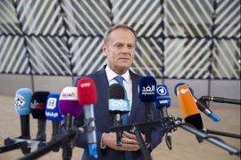 """Tusk pide a los 27 mantener la """"unidad y solidaridad política"""" para tener éxito en la negociación del 'Brexit'"""