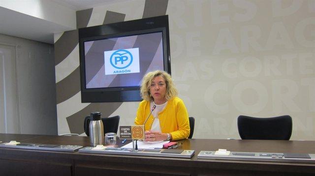 La diputada del PP Aragón Dolores Serrat.