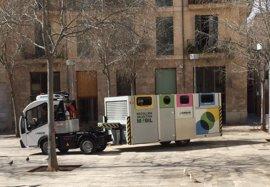 El nuevo servicio de recogida selectiva de Emaya en el centro de Palma empezará el 29 de mayo